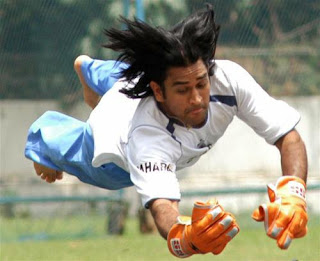 Dhoni catch