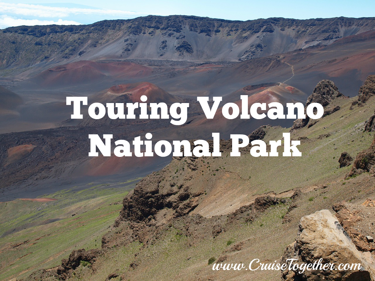Touring Volcano National Park with CruiseTogether.com