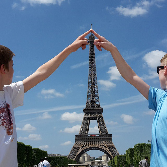 Ryan and Blaise and The Eiffel