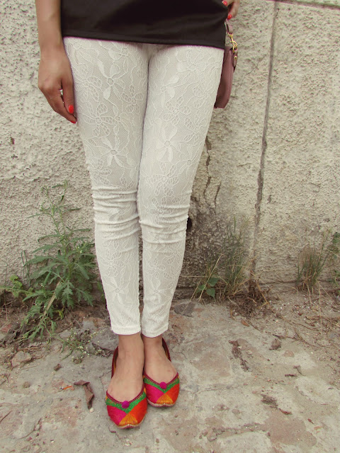 white leggings, casaul summer outfit, dressgal, fashion, how to style cigarette pants, how to style floral scarf, indian fashion blog, Leggings, black cutwork  top, summer fashion 2015, summer must haves, beauty , fashion,beauty and fashion,beauty blog, fashion blog , indian beauty blog,indian fashion blog, beauty and fashion blog, indian beauty and fashion blog, indian bloggers, indian beauty bloggers, indian fashion bloggers,indian bloggers online, top 10 indian bloggers, top indian bloggers,top 10 fashion bloggers, indian bloggers on blogspot,home remedies, how to