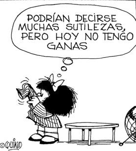 Legado en vida de Quino Mafalda+y+las+sutiliezas