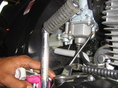 Cara Setting Air Screw Stelan Angin Karburator Ala Londo Motor