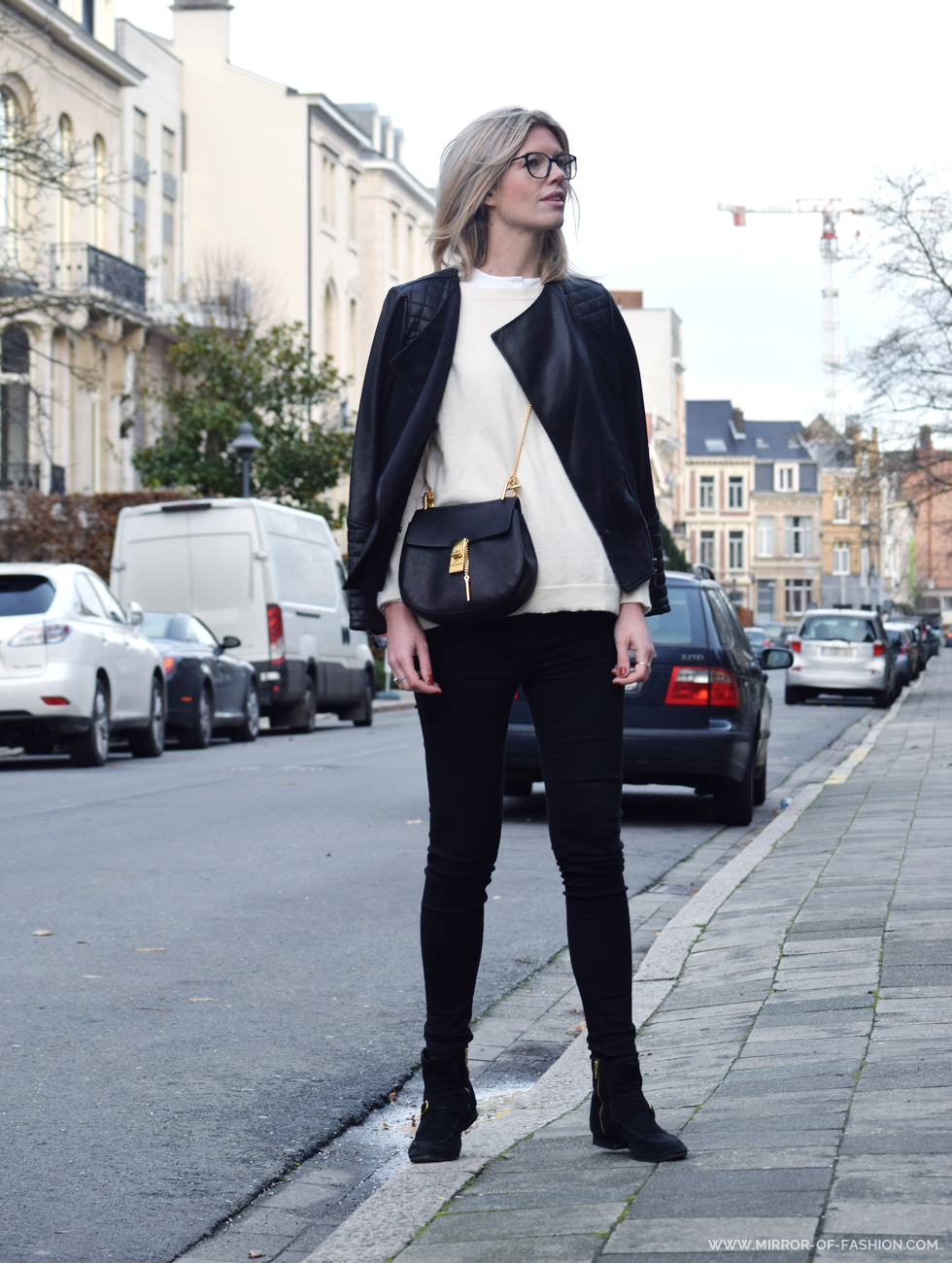 Outfit of the day, Chanel, Halé Bob, COS, By Malene Birger, Chloé, Jbrand, isabel marant, ootd, winter, Drew bag