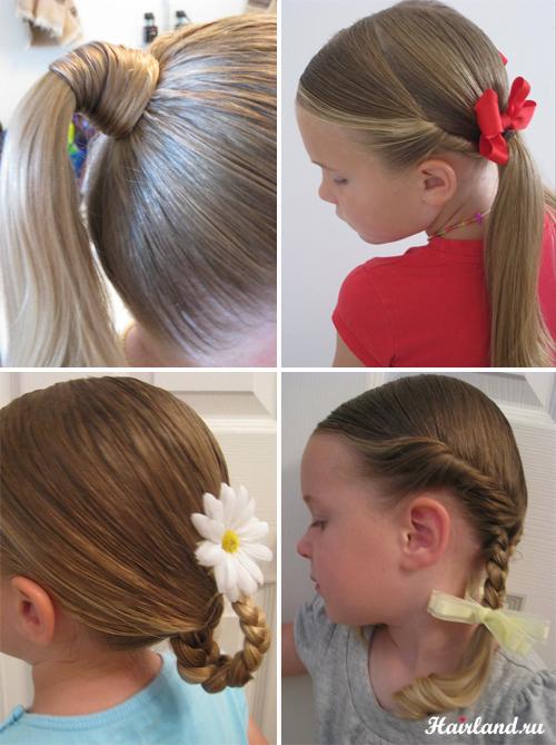 povsednevnie detskie pricheski dlya devochek Дитячі зачіски для дівчаток