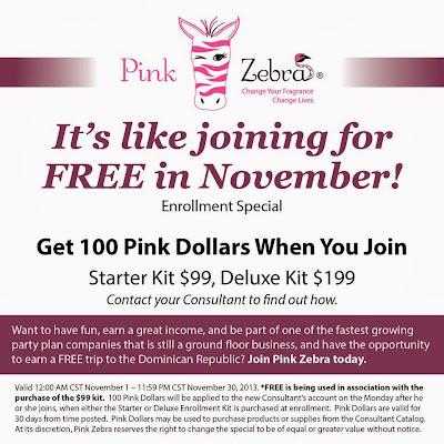 Pink zebra kit special image