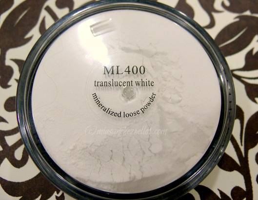 ML 400 translucent white loose powder