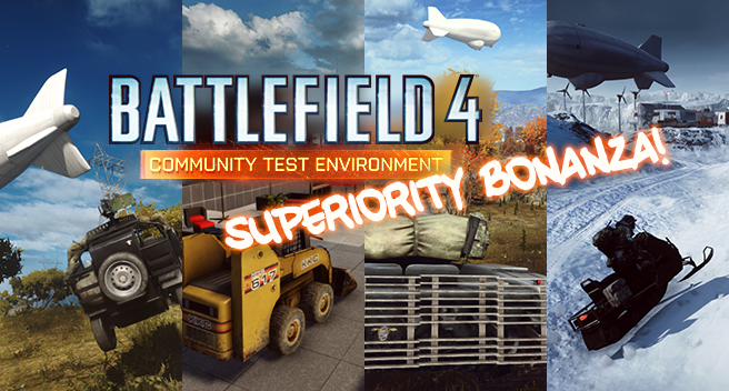 Jeep Superiority e outros novos modos foram disponibilizados no CTE do Battlefield 4