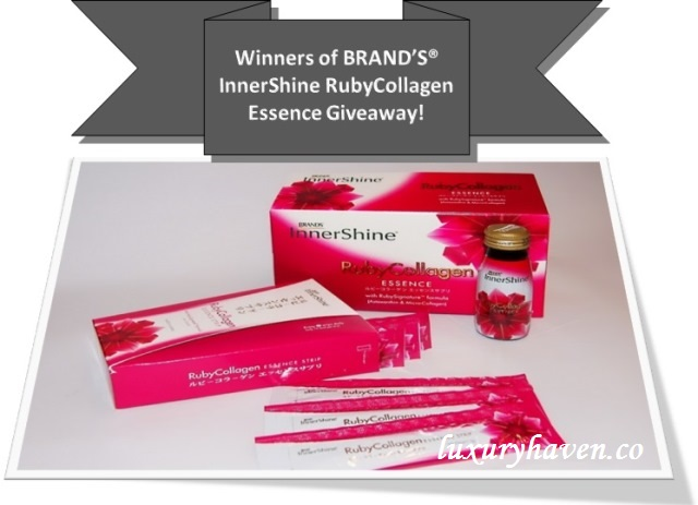 brands innershine ruby collagen essence giveaway results