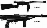 Halcon M-1943 submachine gun