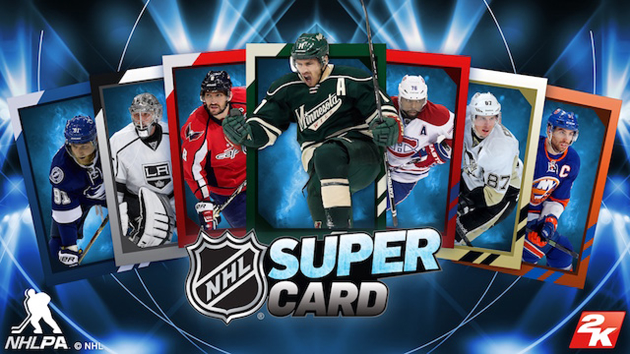 NHL SuperCard Gameplay IOS / Android