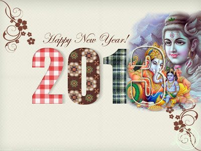 Greeting New Year