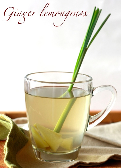 how to make the best tea with lemon grass and fresh ginger spice