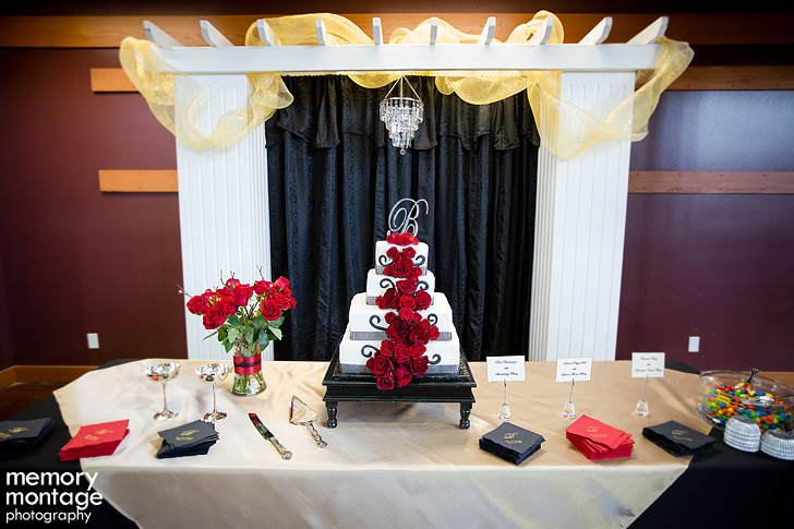 Modern Living Building Yakima wedding photography