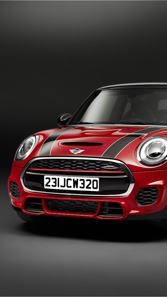 Red MINI John Cooper Works 2015 Galaxy Note HD Wallpaper