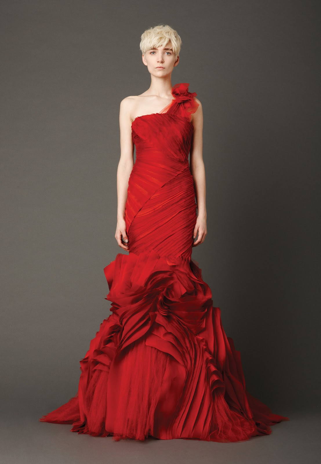 ... Learn Wedding Dresses 2013 Trends from Vera Wangs New Collection