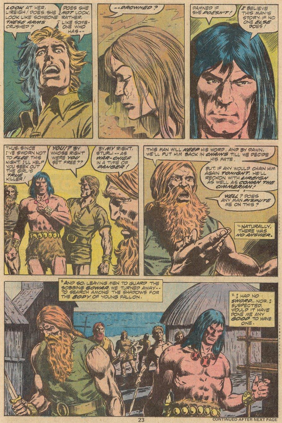 Conan the Barbarian (1970) Issue #69 #81 - English 15