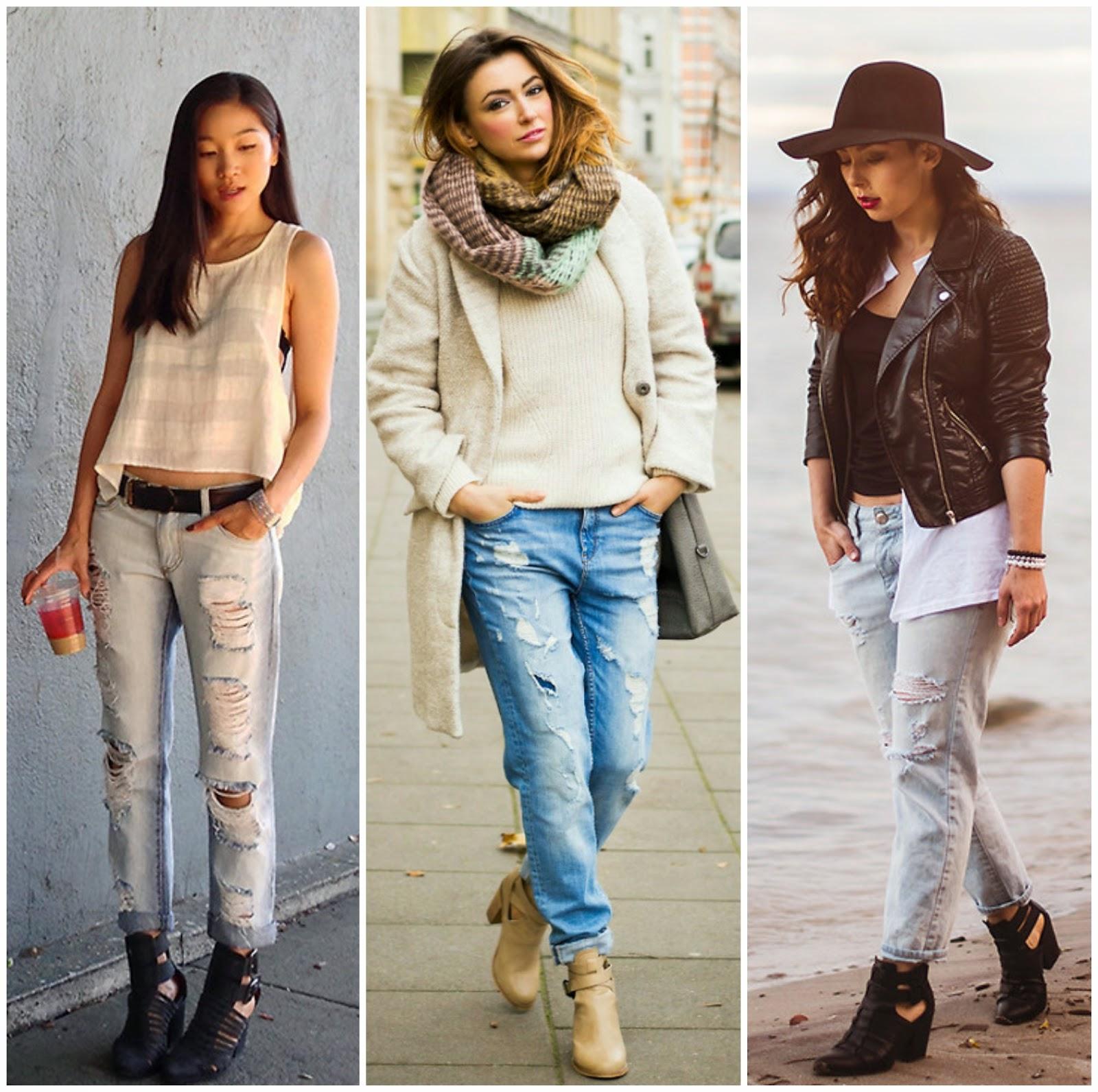 Jeans Boyfriend + Bota