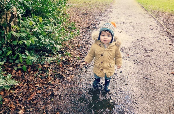 Toddler first Hunter wellies