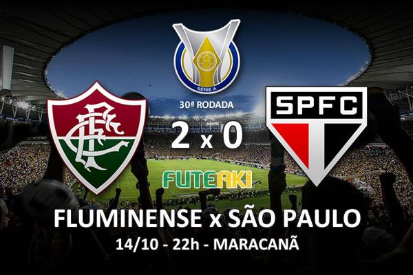 Veja o resumo da partida com os gols e os melhores momentos de Fluminense 2x0 São Paulo pela 30ª rodada do Brasileirão 2015.