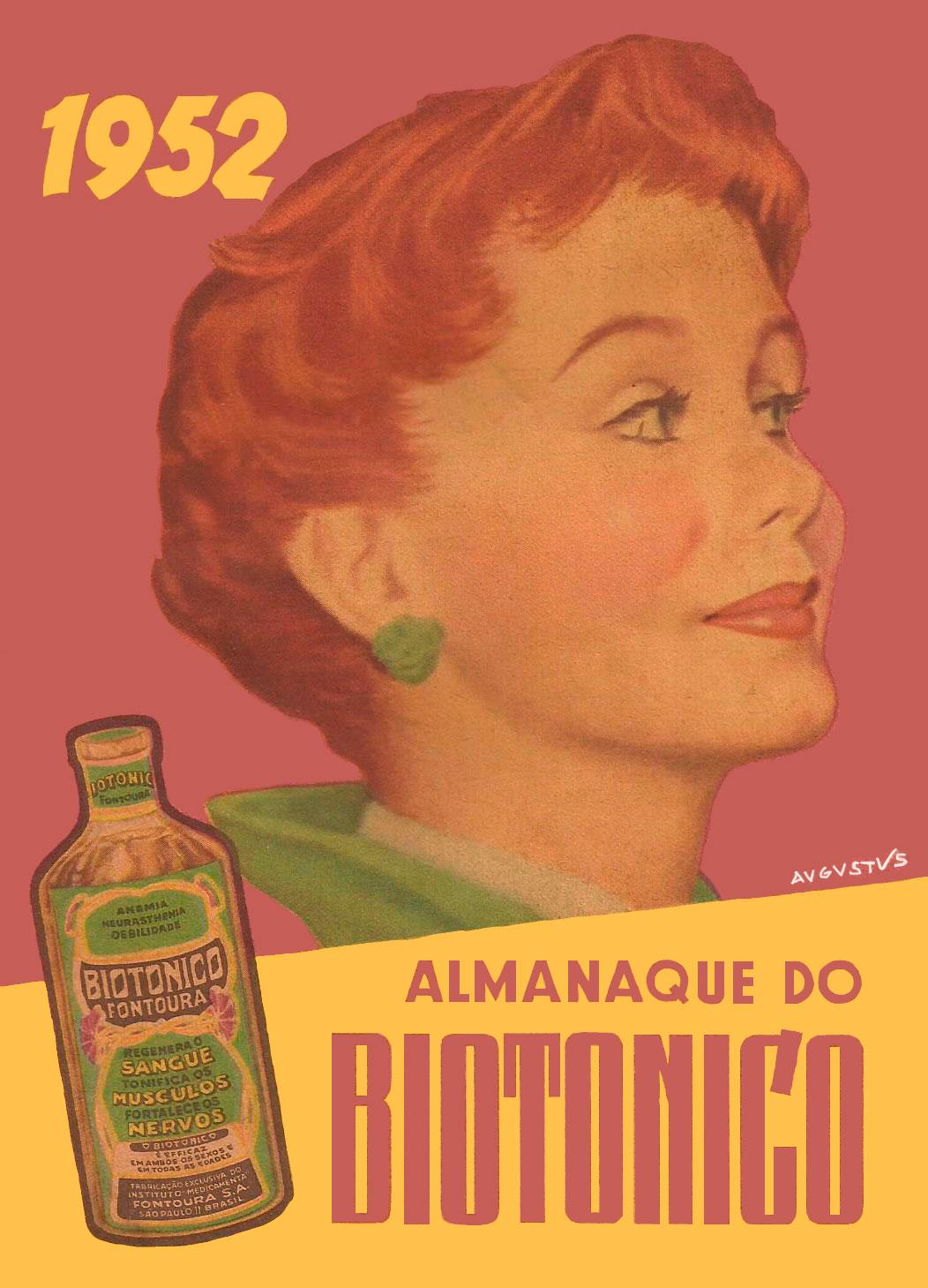 ALMANAQUE DO BIOTÔNICO - 1952