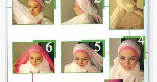 Tutorial Jilbab Pesta Modern | Cara Memakai Jilbab