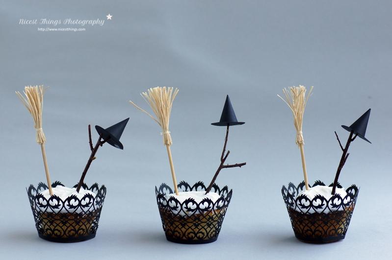 Halloween Cupcakes Hexen Cupcakes