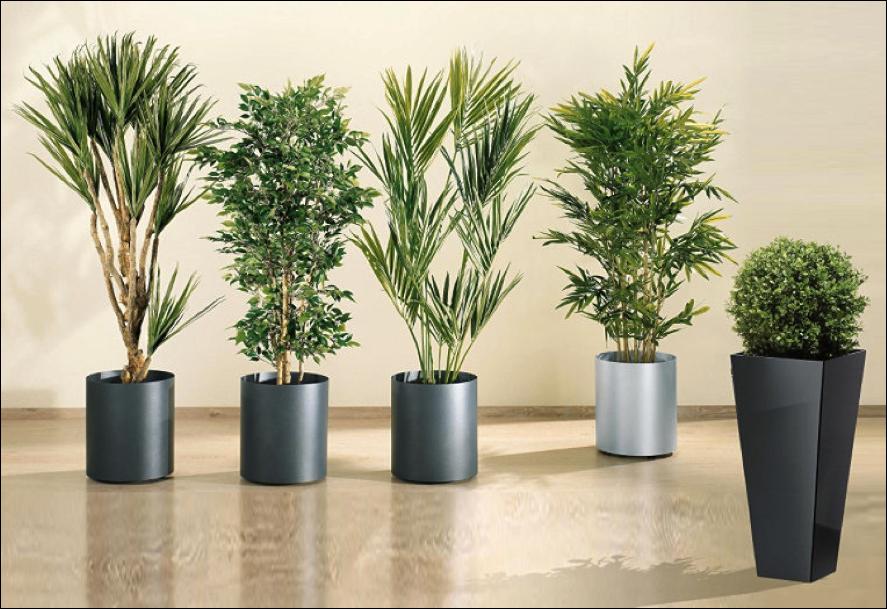 Cien pies con tacones decoraci n con plantas artificiales - Plantas ikea naturales ...