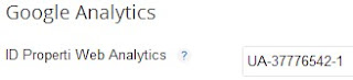 ID Properti Google Analytics