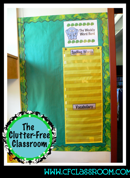 Zebra Classroom Ideas ~ Jungle safari classroom theme clutter free