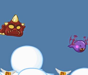 Jogos de lançamento: Kick the Critter.