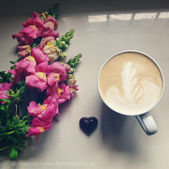 coffee, instagram, flowers, betty bake, heart, chocolates, happiness