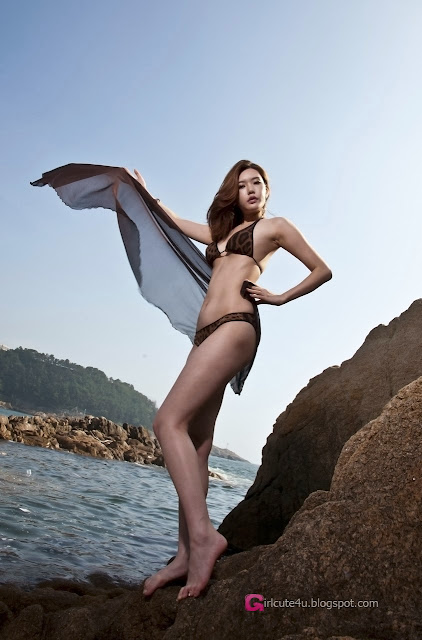 2 Go Da Yeon on a beach -Very cute asian girl - girlcute4u.blogspot.com