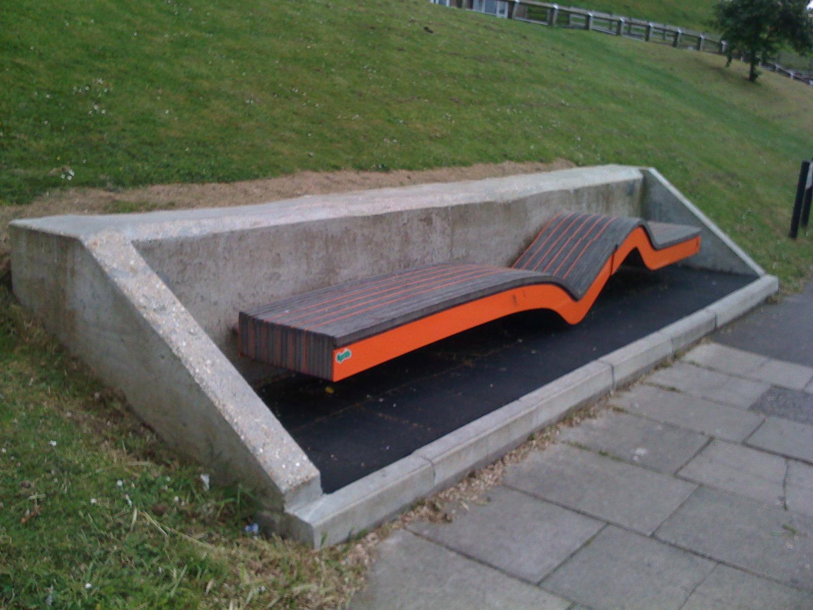 Brighton Urban Bench