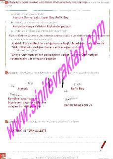 8.Sinif Turkce Enderun Yayinlari Calisma Kitabi Cevaplari Sayfa 48