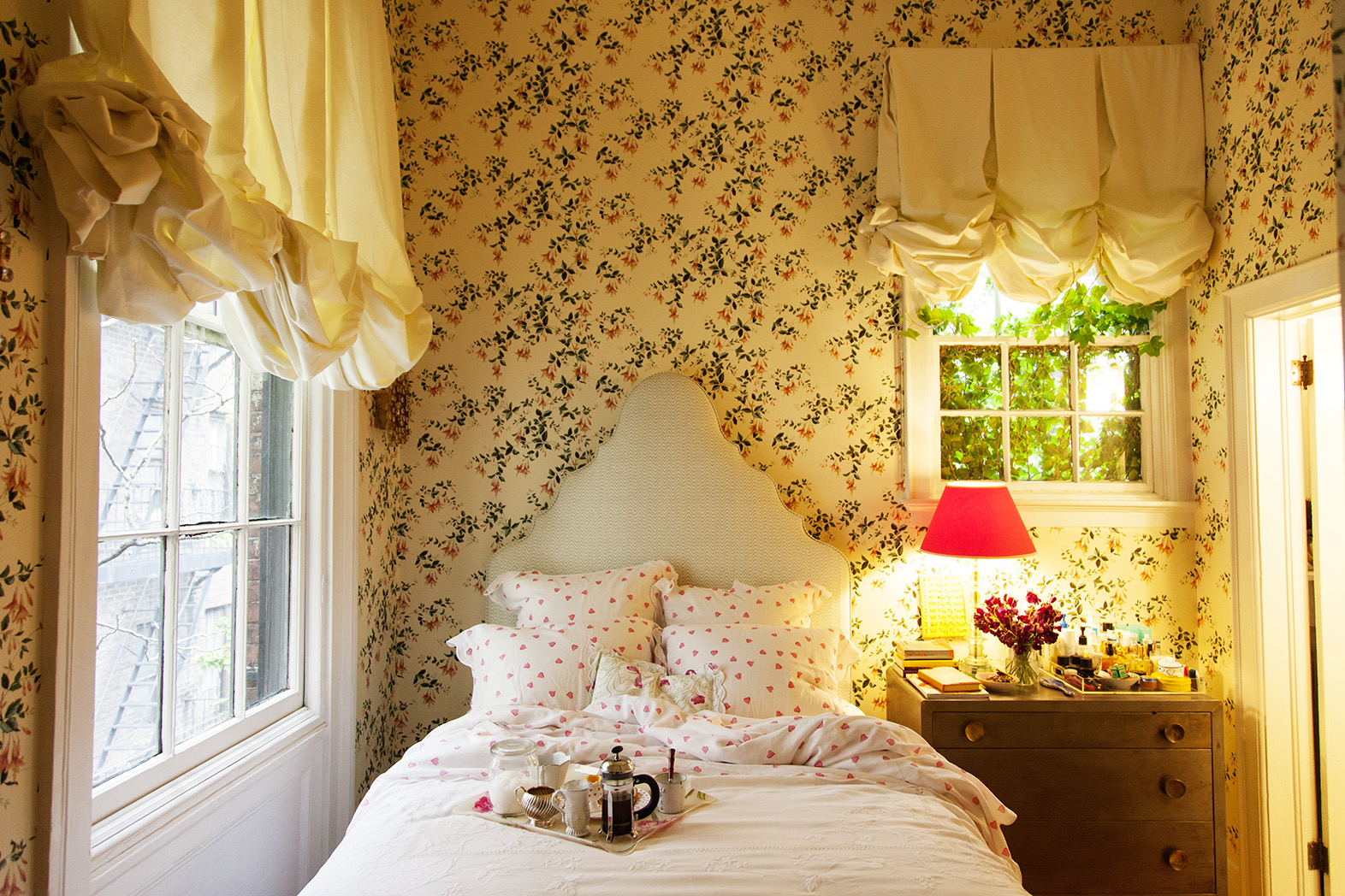 Decorating with Cece Quinn: Fabulous Florals | At Home in Arkansas