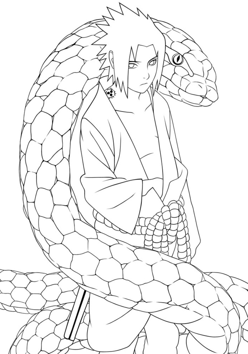 imagens para colorir e imprimir do naruto shippuden - Naruto para colorir Desenhos para Colorir