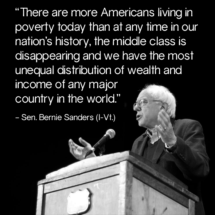 Senator Bernie Sanders