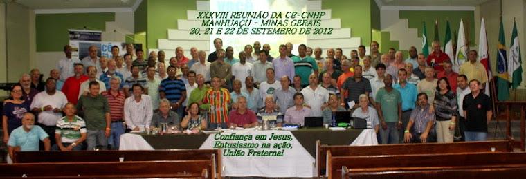 XXXVIII - REUNIÃO DA CE/CNHP.