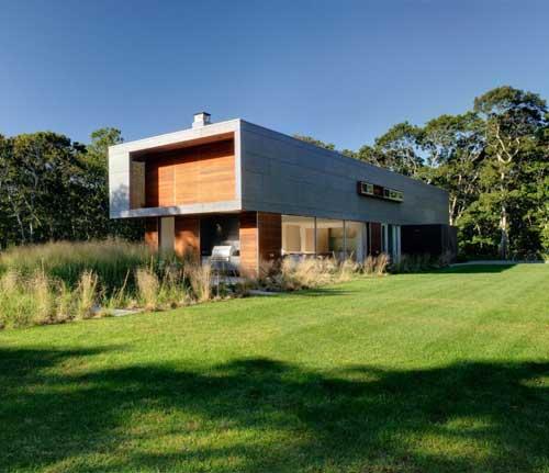 Casa ecol gica moderna ideas para decorar dise ar y - Casas prefabricadas grandes ...