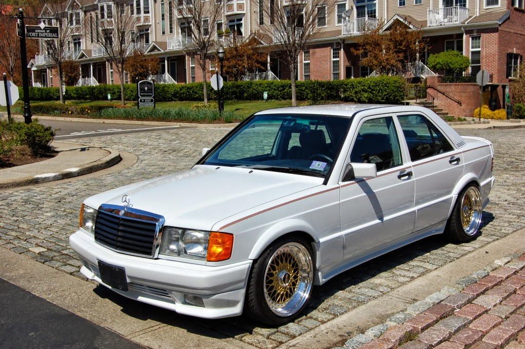 mercedes benz w201 190e 2 6 white on bbs wheels benztuning. Black Bedroom Furniture Sets. Home Design Ideas