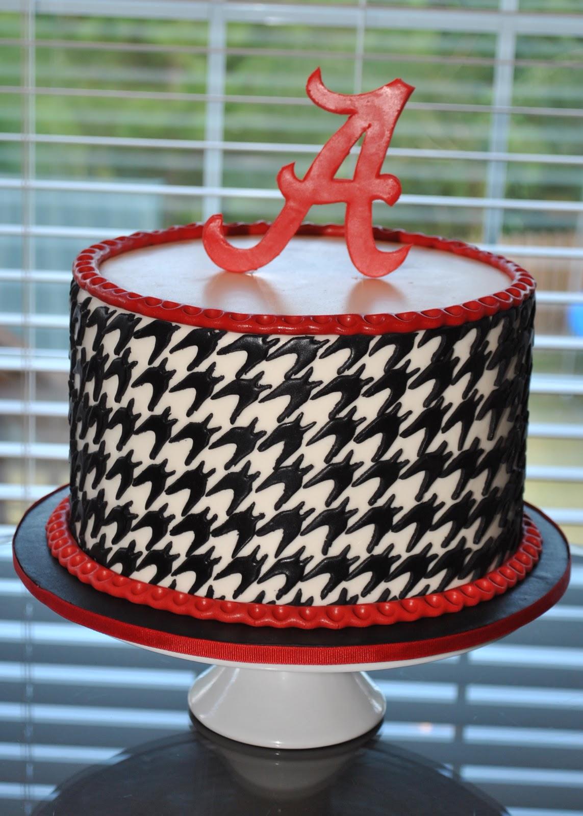 Roll Tide Cake Ideas