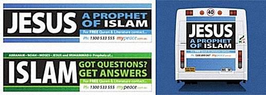 Sebuah Kelompok Muslim Di Australia Menyebarkan Iklan