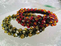 Swarovski Bead Crochet Bangles