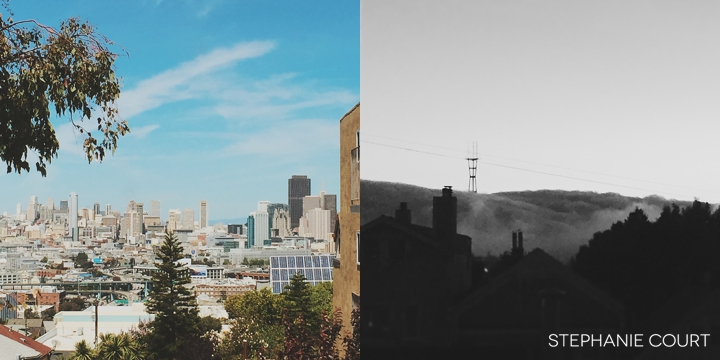 scenic views of san francisco