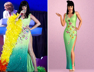 The Sims 3 Katy Perry Mundo Doce - Rock in Rio 2011