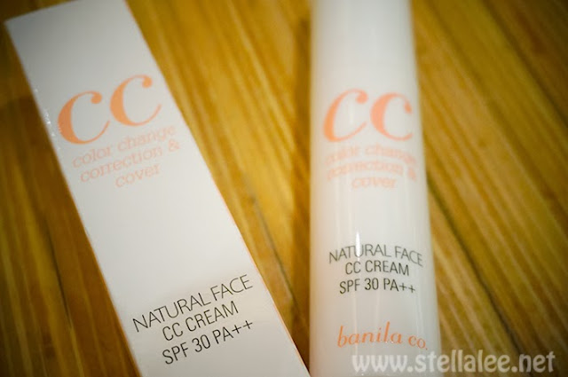 Banila co. Natural Face CC Cream Natural Beige