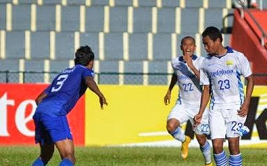 Persib Bandung Kalahkan New Radiant SC 1-0 (Video)