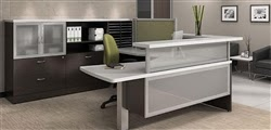 High End Modern Reception Desk