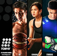 James Yap Michelle Gumabao Neil Etheridge
