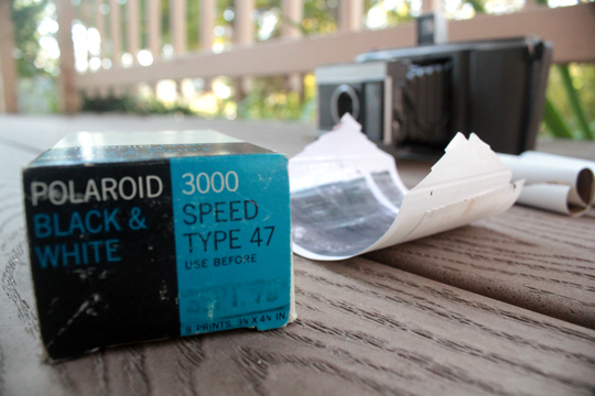 polaroid roll film 3000 type 47